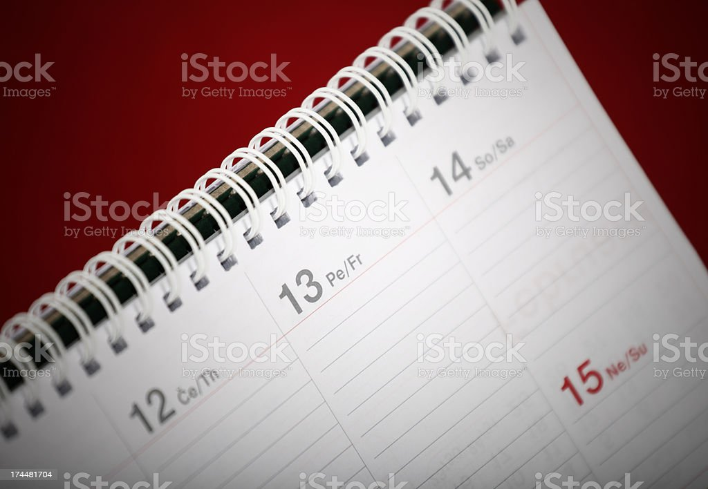 Friday 13th royalty-free stock photo