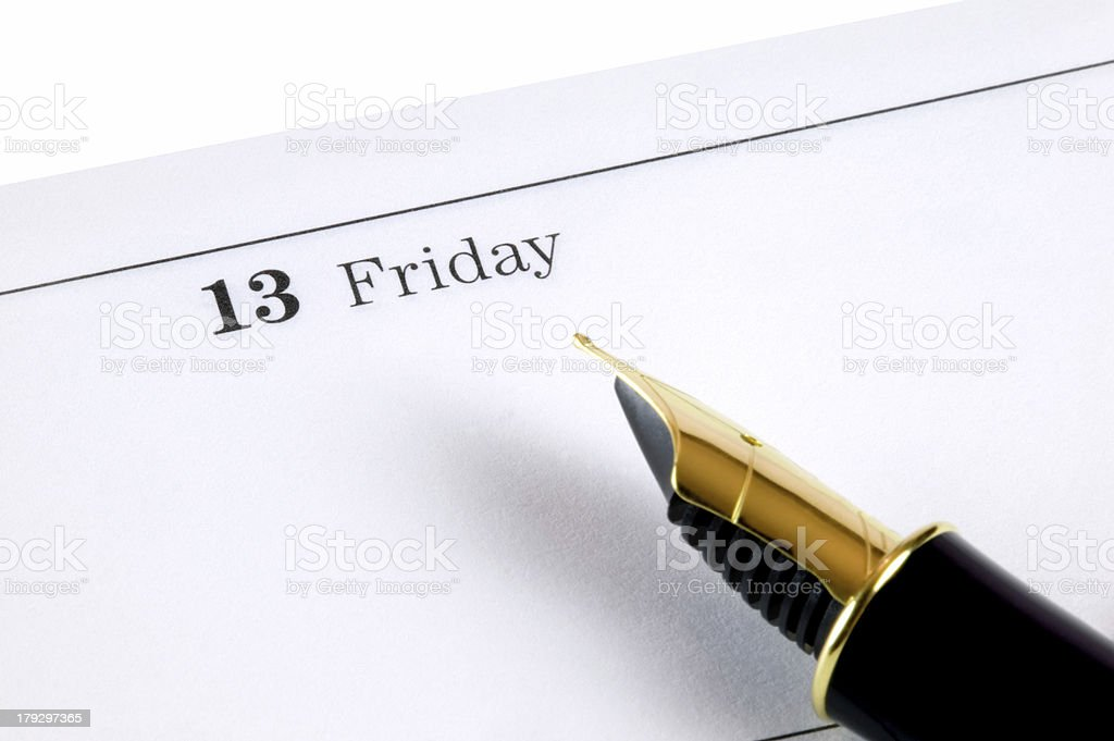 Friday 13th stock photo