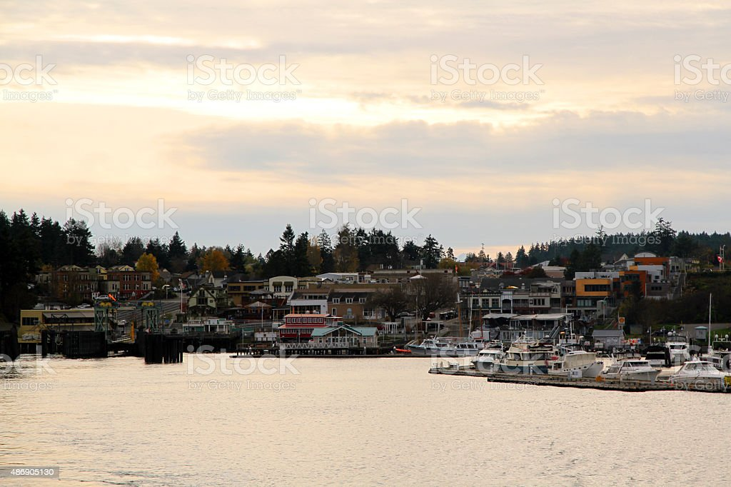 Friday Harbor stock photo