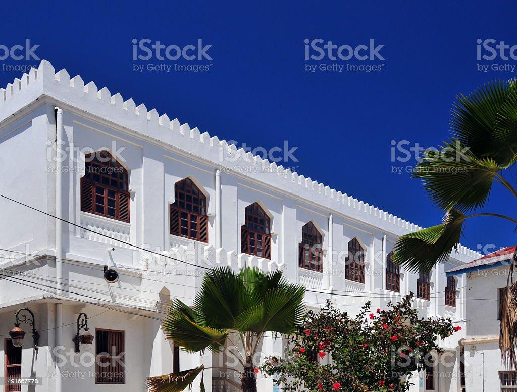 Friday Mosque, Stone Town, Zanzibar stock photo