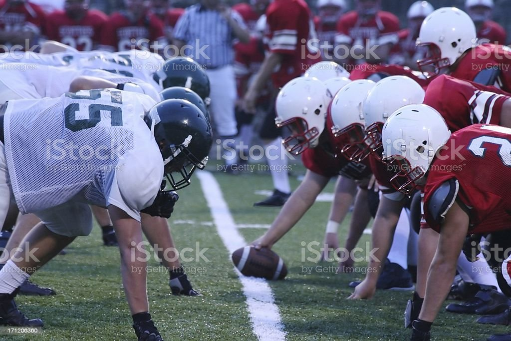Friday Night Football stock photo