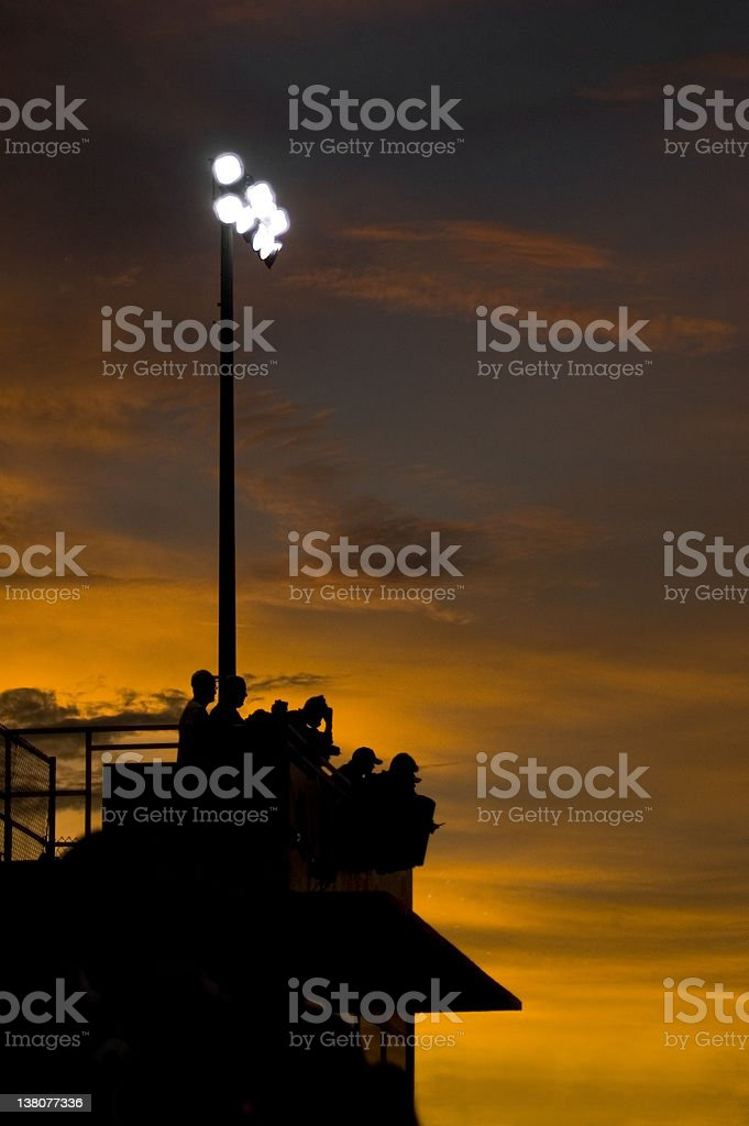 Friday Night Lights 2 stock photo
