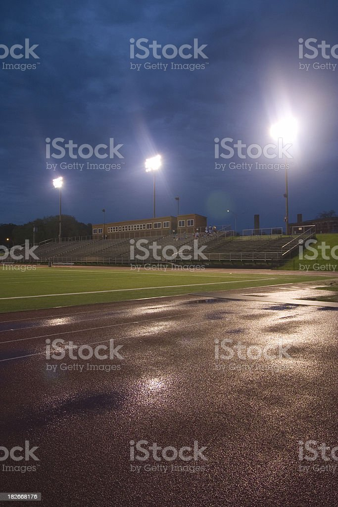 Friday Night Lights stock photo