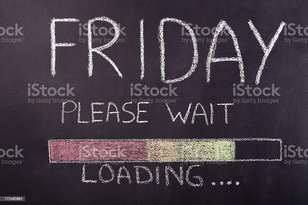 Friday stock photo