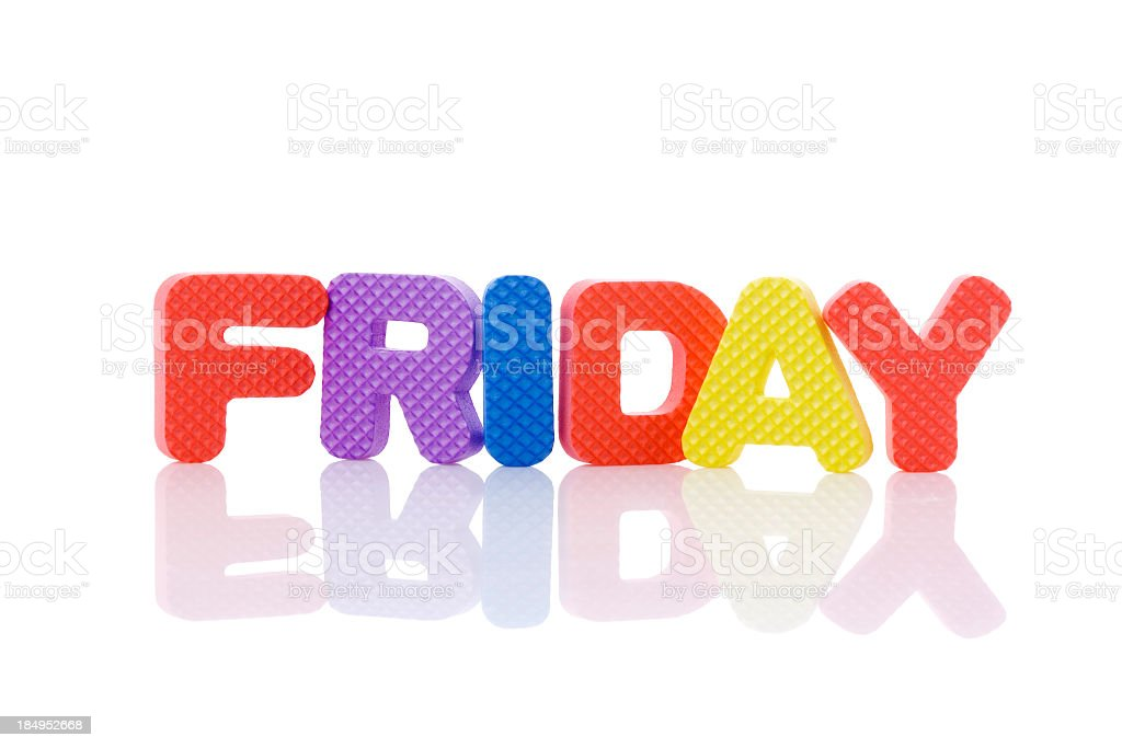 friday royalty-free stock photo