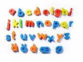 fridge letters- lowercase