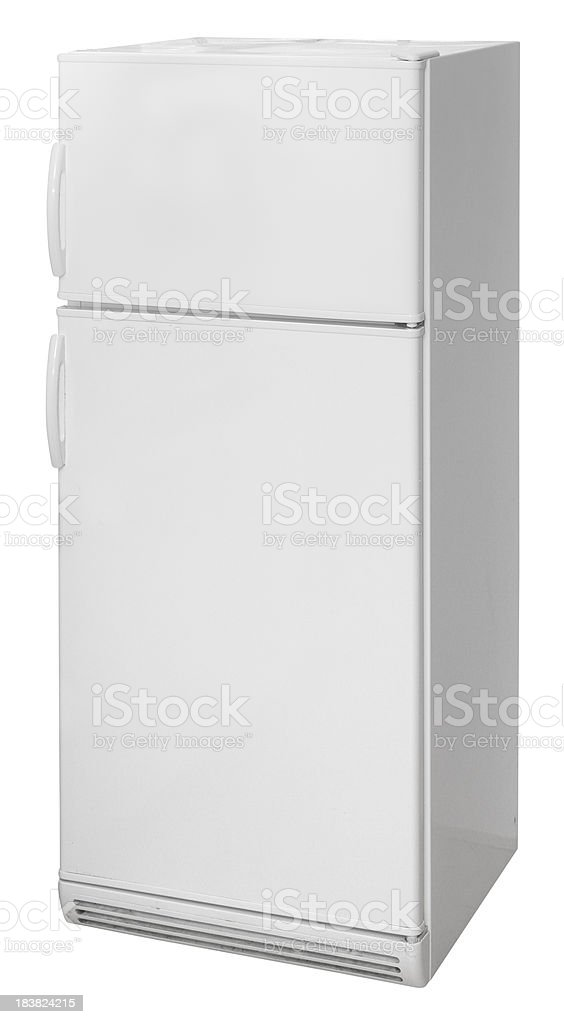 Fridge stock photo