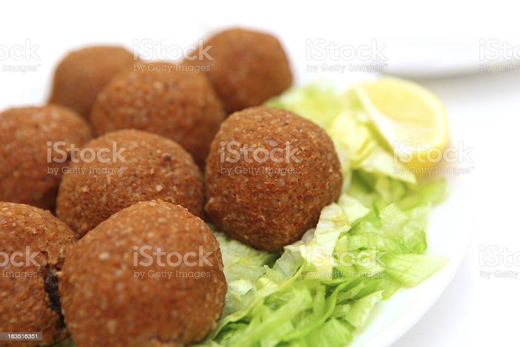 fried balls royalty-free stock photo