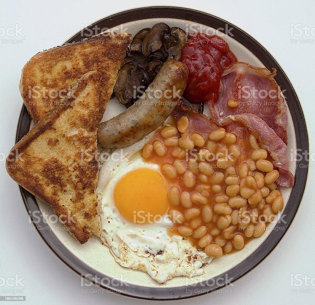 Fried Breakfast royalty-free stock photo