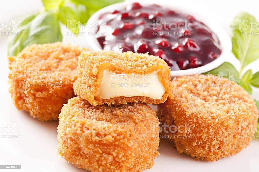 Fried Camembert royalty-free stock photo