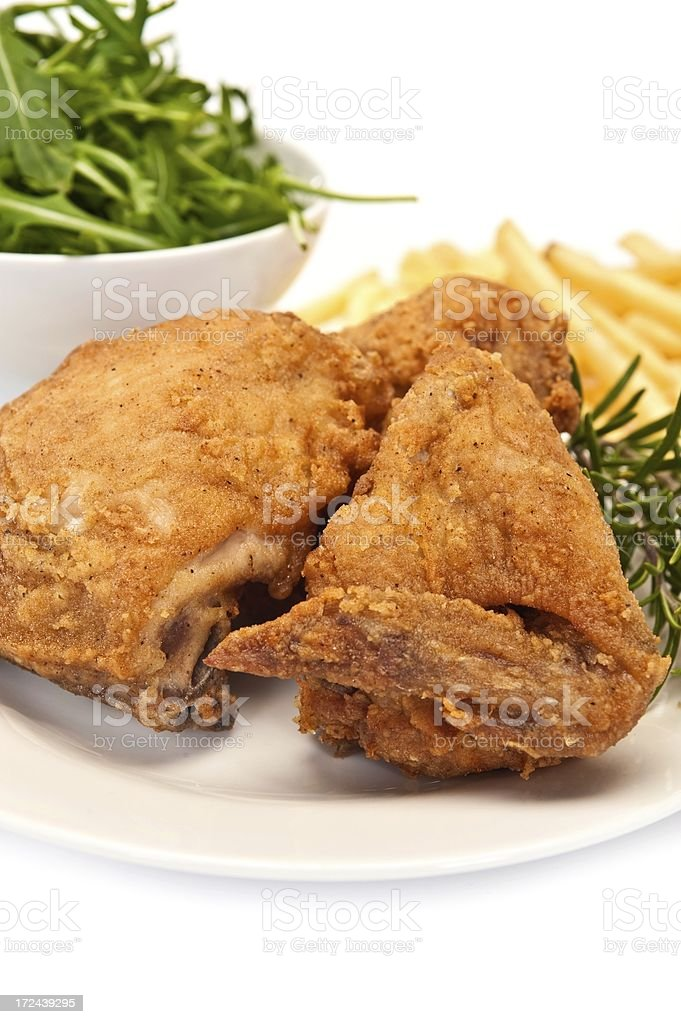 Fried Chicken royalty-free stock photo