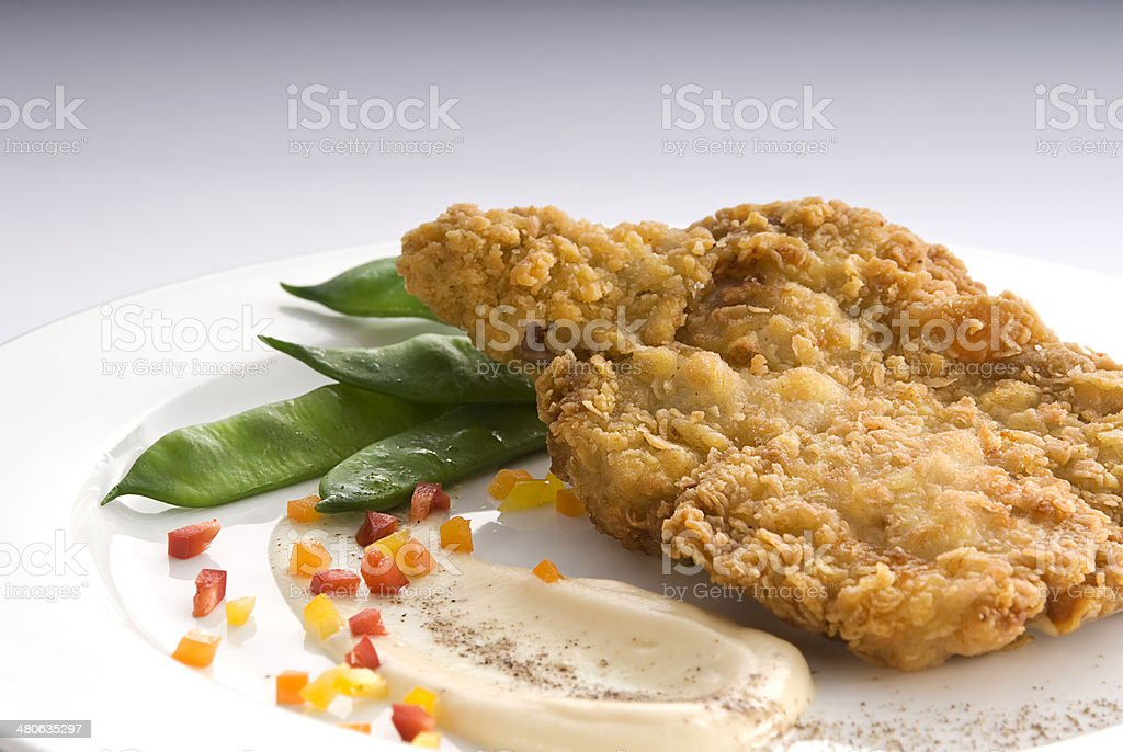 Fried Chicken Strips royalty-free stock photo