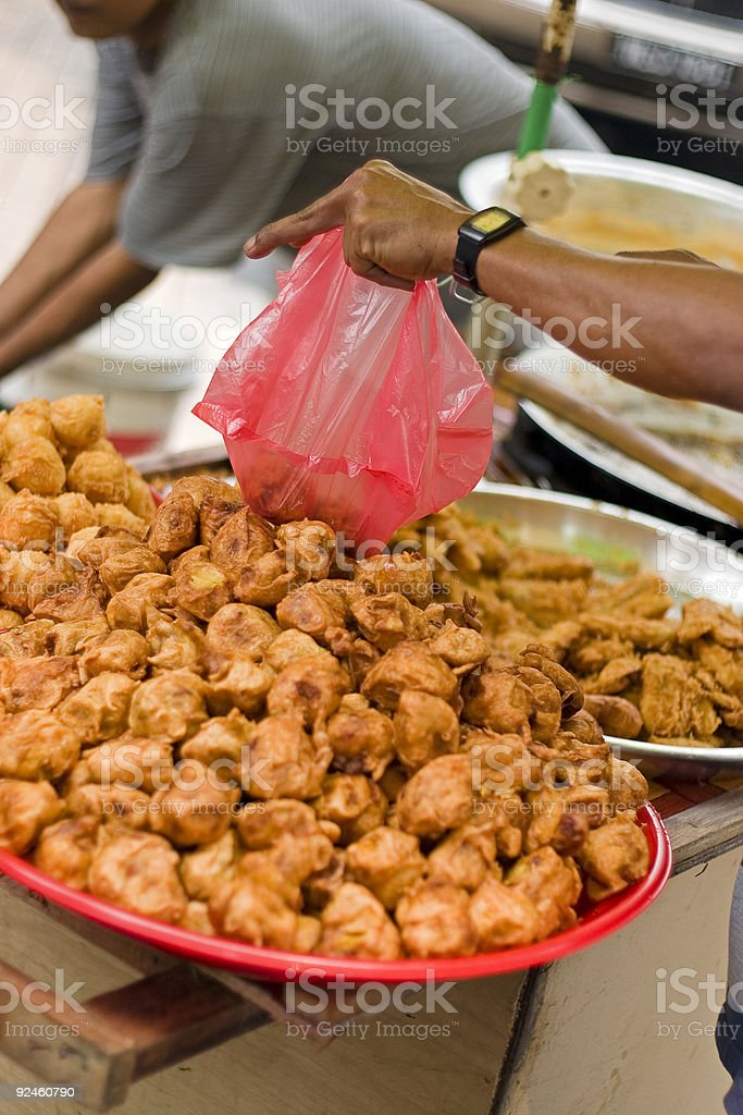 Fried Dumplings royalty-free stock photo