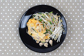 Fried egg and oyster as Hoi Tod Khai