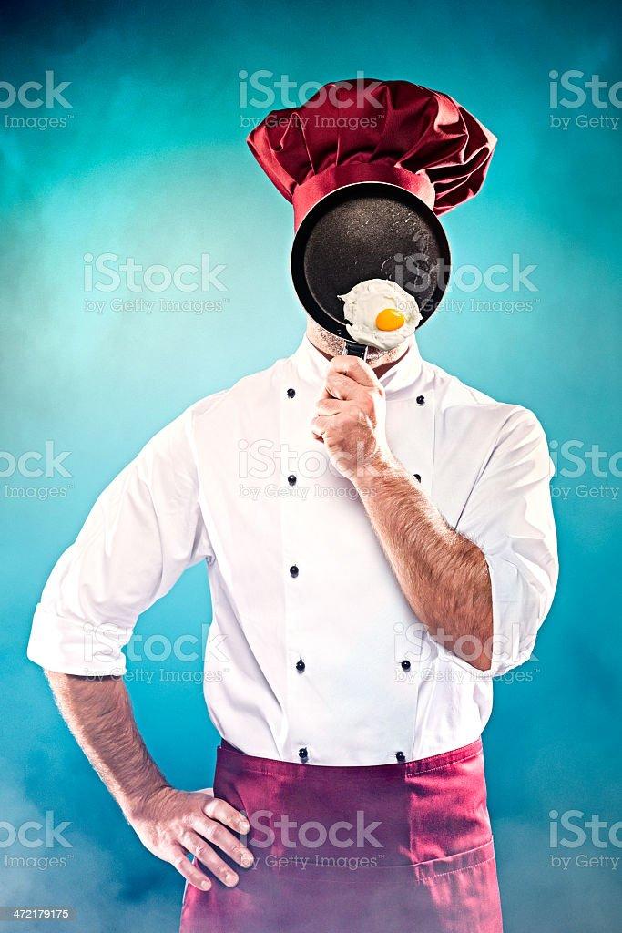 fried egg! stock photo
