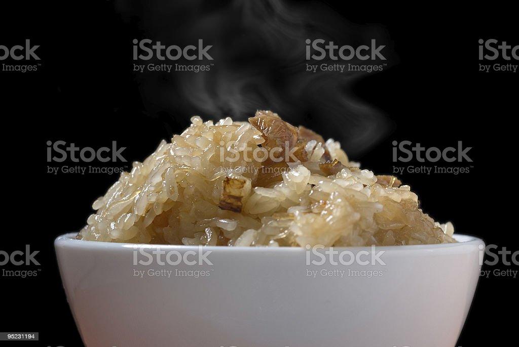Fried Glutinous Rice royalty-free stock photo