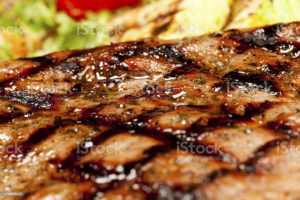Fried grill barbecue royalty-free stock photo