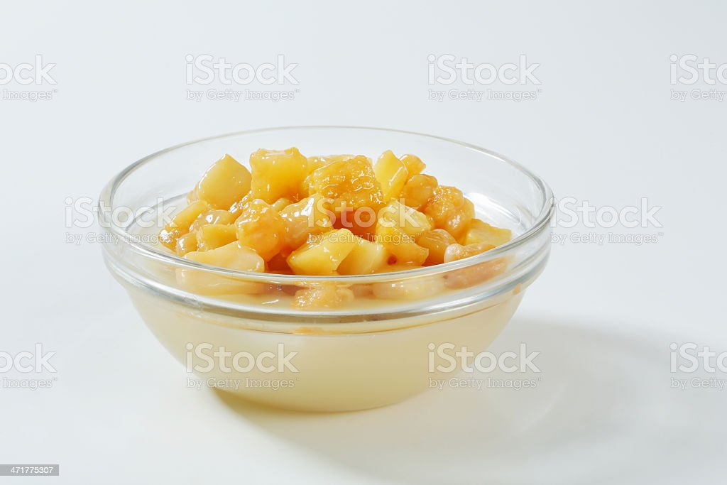 fried lard and dripping royalty-free stock photo