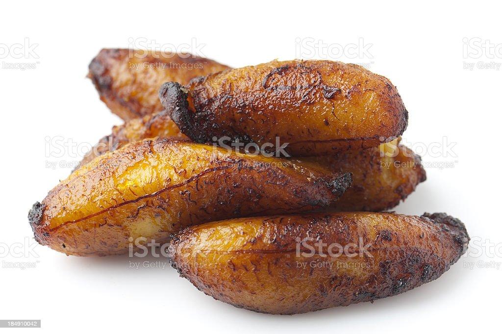 Fried Maduro Plantain stock photo
