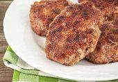 fried meat cutlet
