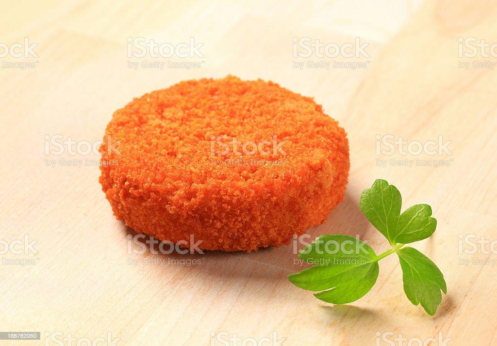 Fried patty royalty-free stock photo