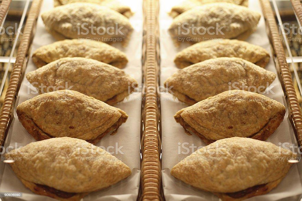 Fried Pie Pastries stock photo