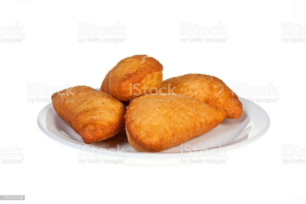 Fried  pies stock photo
