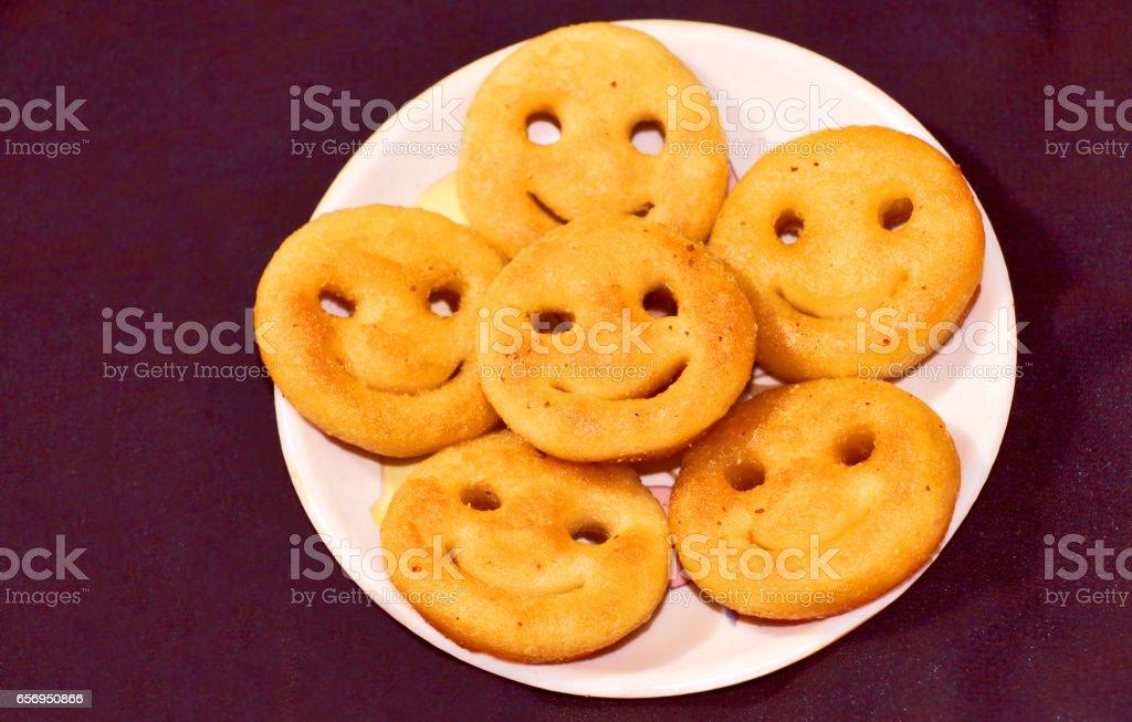 Fried Potato Patties stock photo