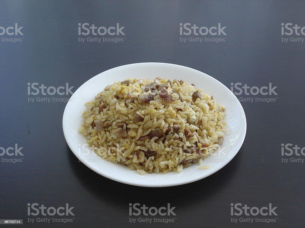 fried rice royalty-free stock photo