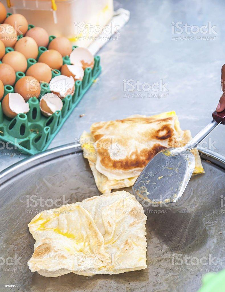 fried Roti royalty-free stock photo