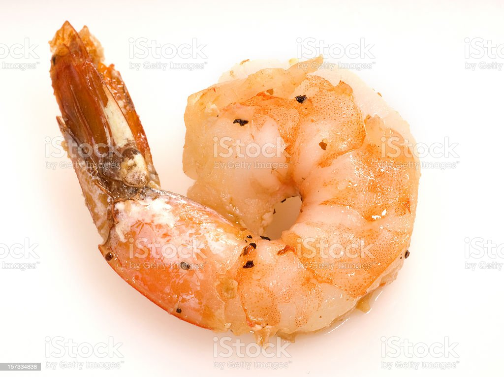 fried shrimp royalty-free stock photo