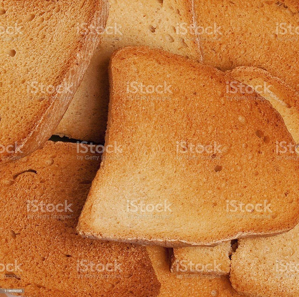 Frito tostadas foto de stock libre de derechos