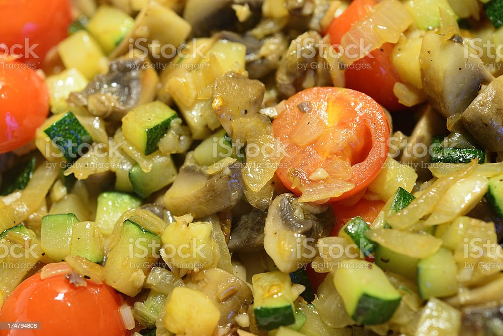 Fried vegetable royalty-free stock photo