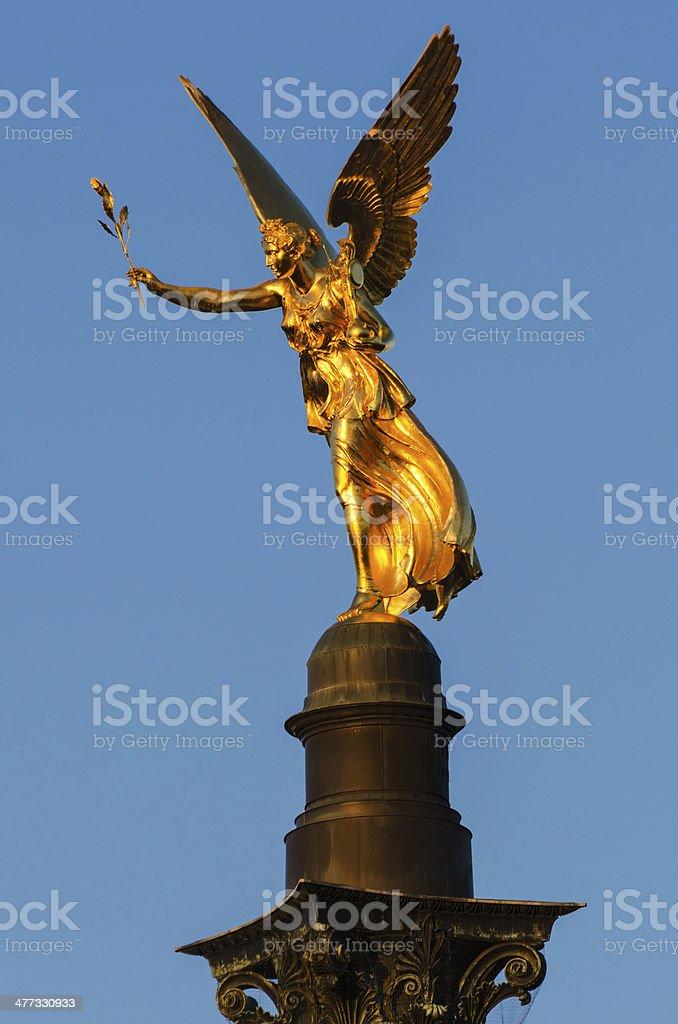 Friedensengel - Angel of Peace stock photo