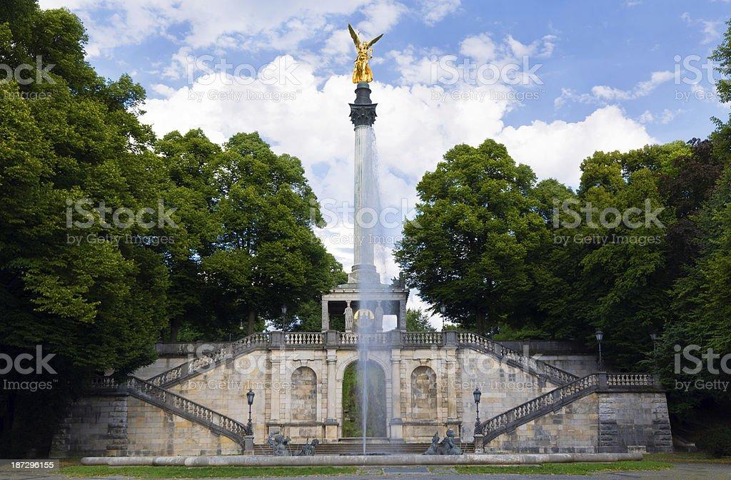 Friedensengel in Munich, Germany royalty-free stock photo