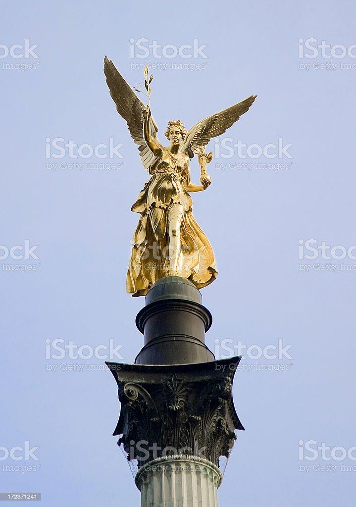 Friedensengel, Munich stock photo