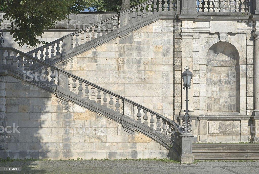 Friedensengel Staircase stock photo