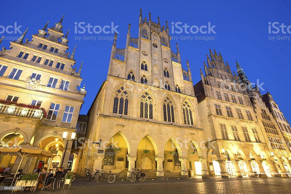 Friedenssaal in M?nster (Prinzipalmarkt) royalty-free stock photo