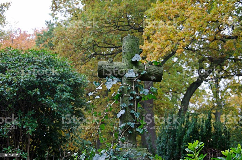 Friedhof stock photo