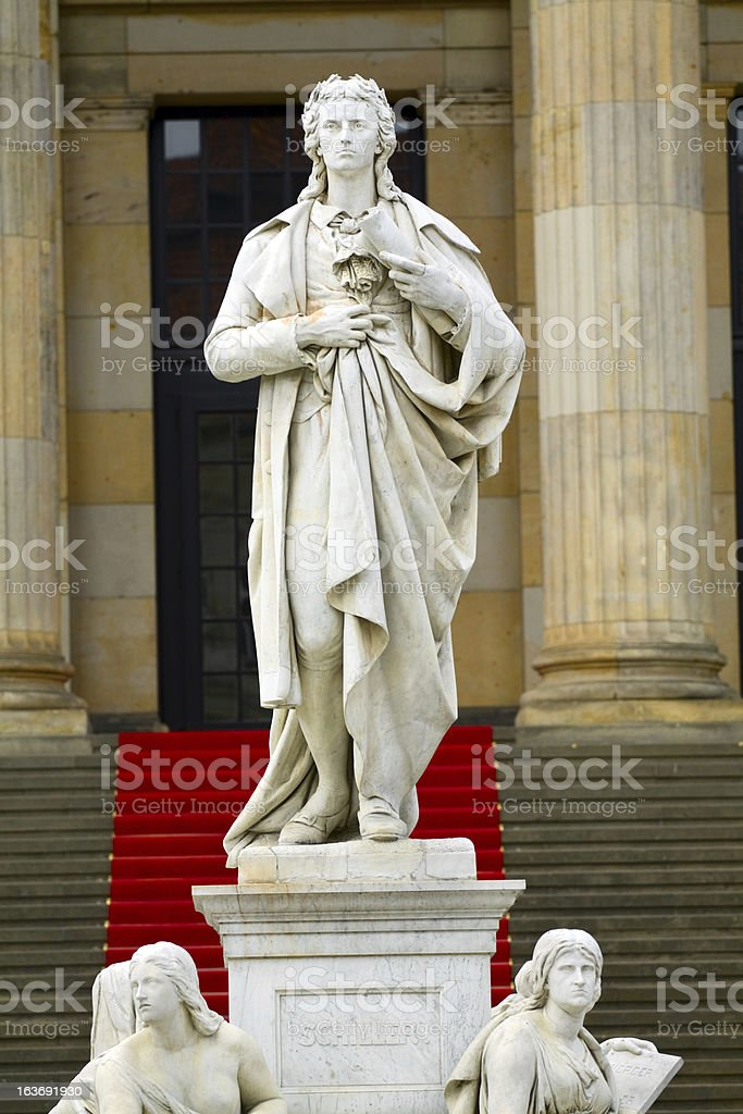 Friedrich Schiller stock photo