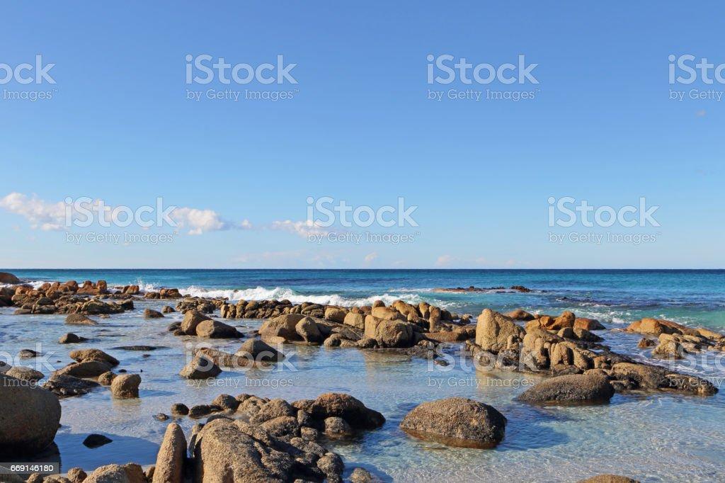 Friendly Beach stock photo