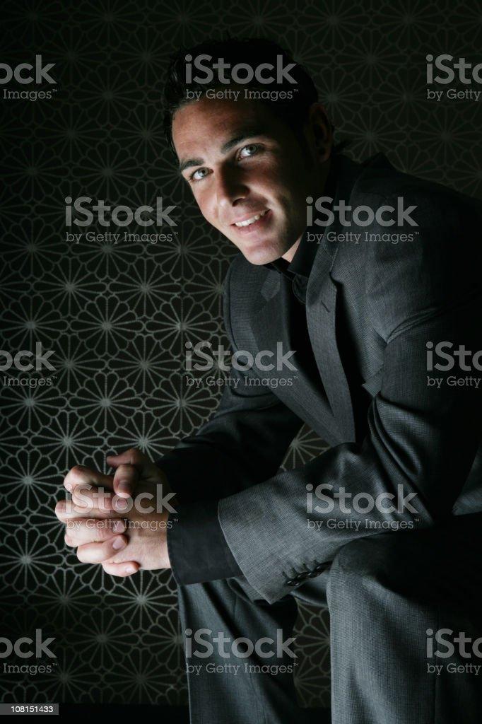 friendly businessman. royalty-free stock photo
