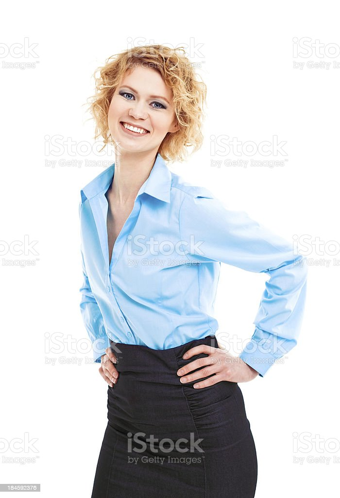 Friendly Businesswoman royalty-free stock photo