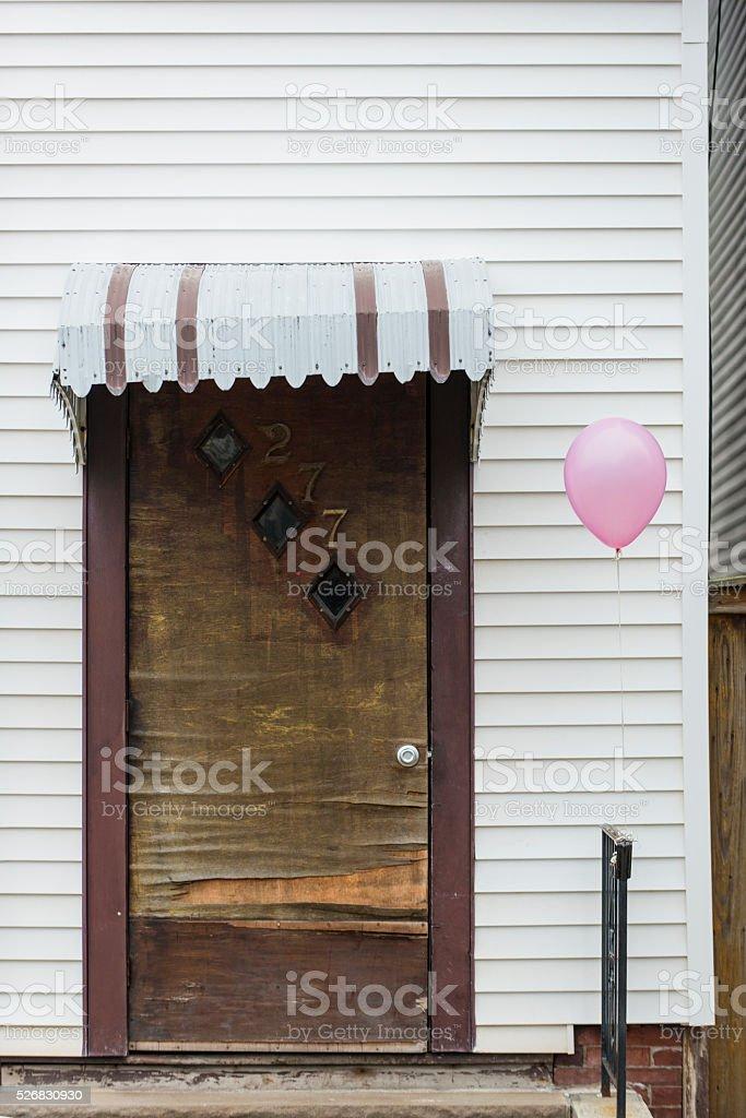 Friendly door royalty-free stock photo