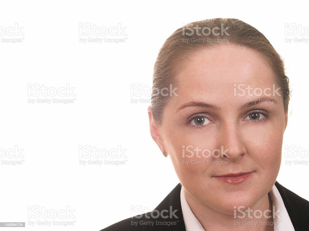 Friendly face royalty-free stock photo