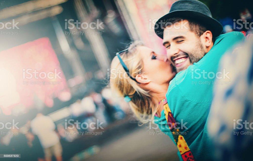 Friendly love. stock photo