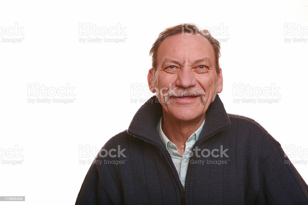 friendly man royalty-free stock photo