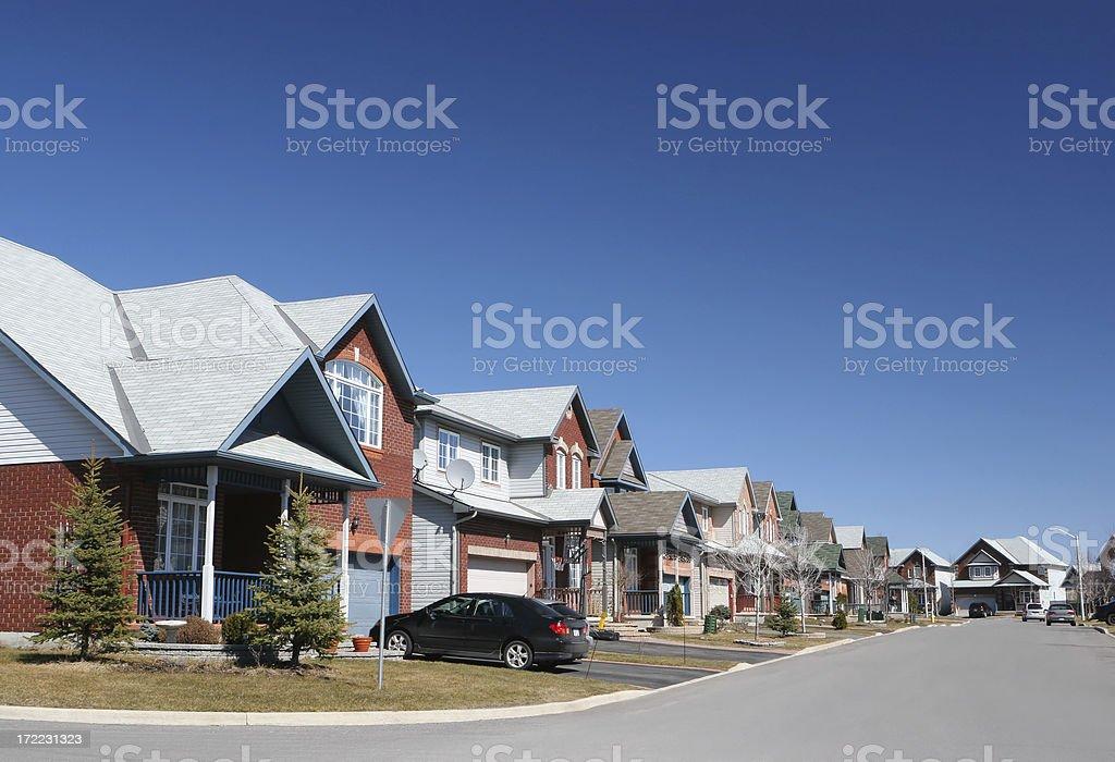 Friendly Neighborhood royalty-free stock photo