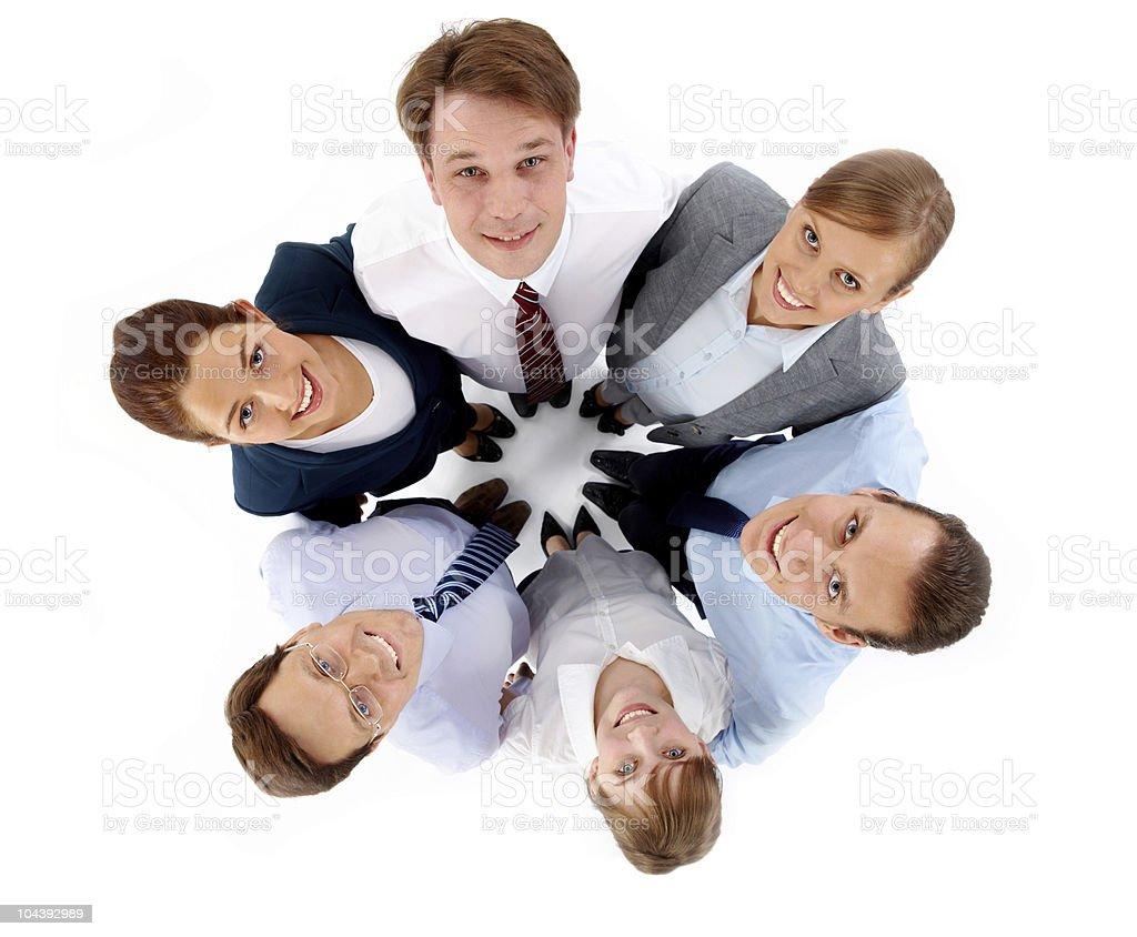 Friendly partners royalty-free stock photo