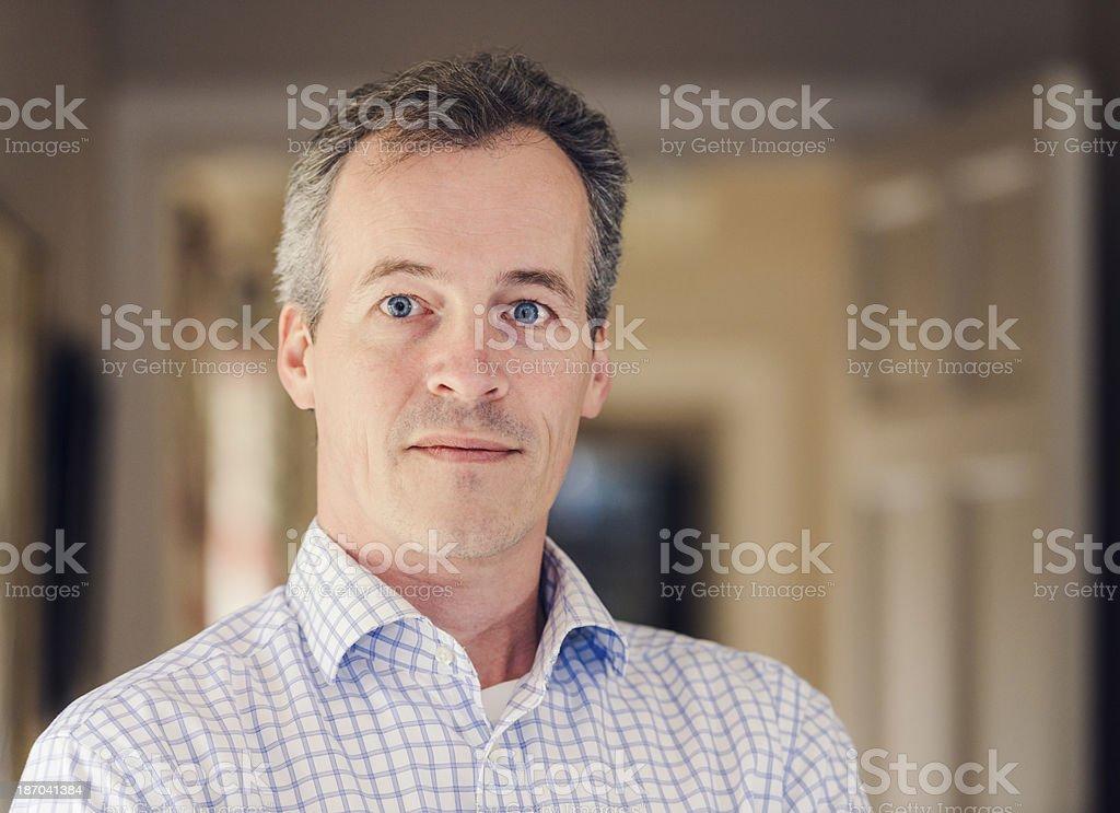Friendly portrait royalty-free stock photo
